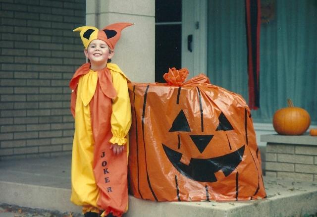 Halloween on Ash Street, Waukegan, IL