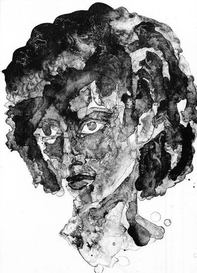 Self-Portrait of a Black Woman (2010) by Katrina Andry
